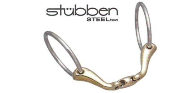 ST_2423 Stubben Quick Contact Loose Ring Snaffle