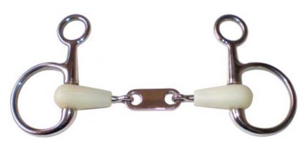 2656 - Happy Mouth Jointed French Hanging Cheek Bit