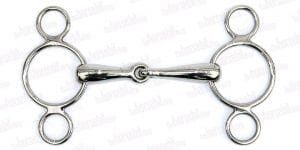 3RCO - 3 Ring Continental Pony Snaffle