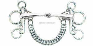 4212556 Sprenger Pelham Single Jointed Stainless Steel