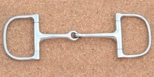DR - Jointed D Ring Snaffle