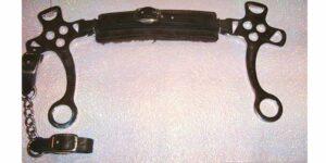 EZ - English Hackamore Black English Leather